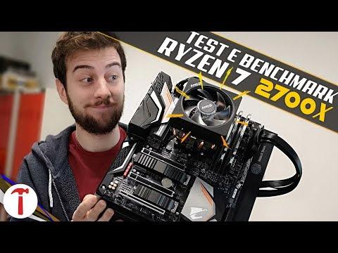 Ryzen 7 2700X, la nuova CPU top di gamma AMD