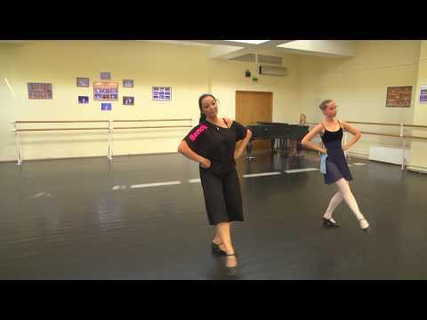 Русский народный танец. Лирическая часть.
