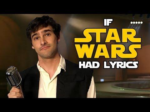 If the Star Wars Cantina Song Had Lyrics (Parody)