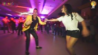 Johnny Vazquez & Maria Lizeth Salsa Dance Video  | 1.EIDC