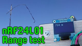 nRF24L01 range test (arduino)