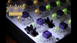MonkeyKing Custom iGK61 60% keyboard review (Kailh BOX Royal)