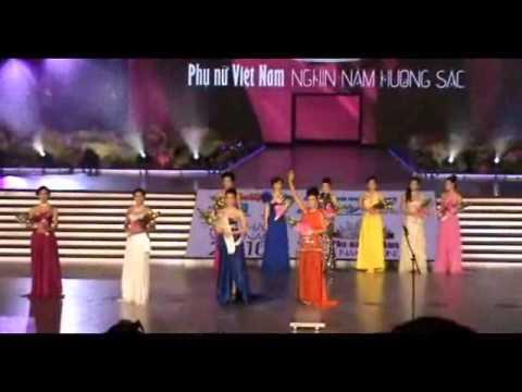 Thời khắc công bố Top 5 Hoa hậu VN 2010