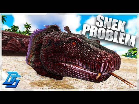 The Titanoboa Issue -  Catch'em All  - Ark Survival Evolved -Iso: Crystal Isles - Part 12