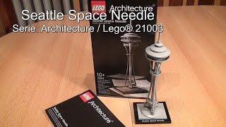 Test LEGO Seattle Space Needle (Architecture Legoset 21003 deutsch / Deutschland)