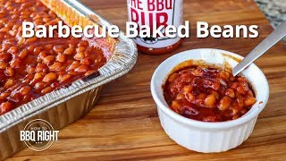 Barbecue Baked Beans Smoked on the Pit  HowToBBQRight