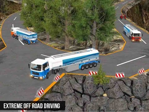 Water Tanker Transport Sim - Android GamePlay FHD
