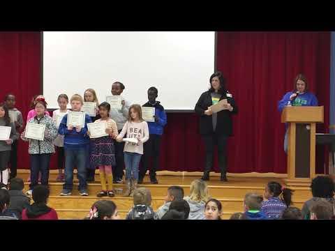 Honor Roll Award.Groves Elementary School.