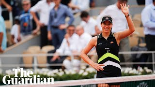 Johanna Konta after reaching French Open semi-finals: 'I back myself'
