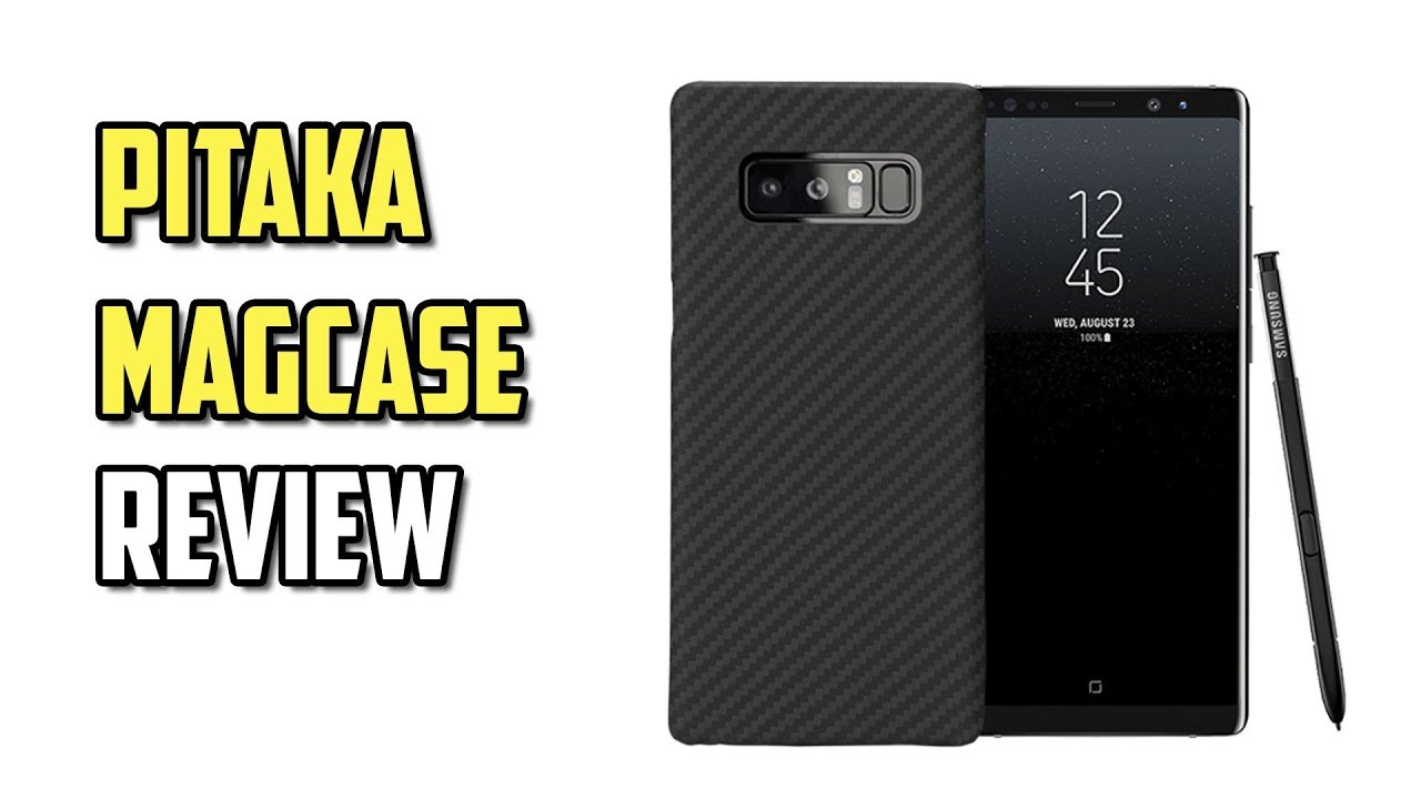 official photos 469ad 5d8fb PITAKA MagCase Galaxy Note8 Review