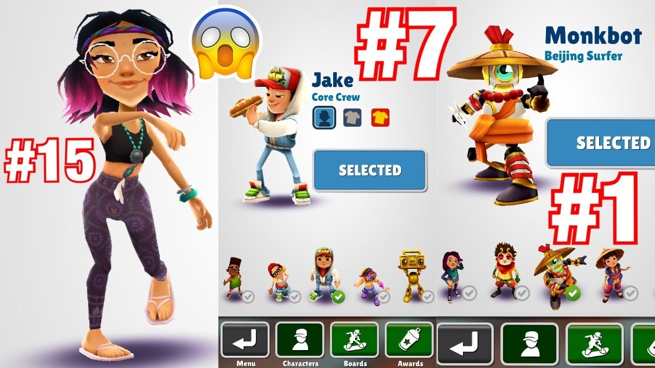 maxresdefault - How To Get All The Characters In Subway Surfers