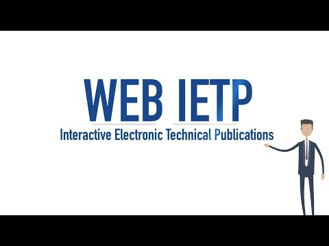 Web IETP, the service for online maintenance manual overview