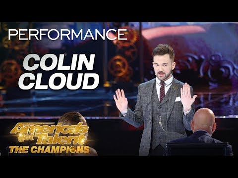 Colin Cloud | the forensic mind reader
