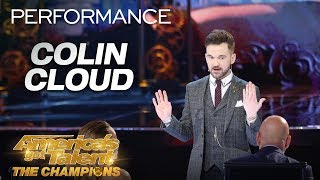 Colin Cloud: Mind Reader Makes David Hasselhoff Appear! - America's Got