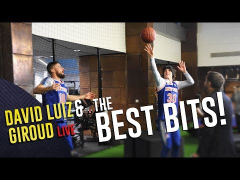 The David #Luiz & Olivier #Giroud Show | The Best Bits!