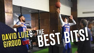 The David #Luiz & Olivier #Giroud Show | The Best Bits!
