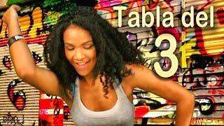 Canción de la tabla del 3 - Las Tablas de Multiplicar al Estilo Urbano - Videos Educativos # thumbnail