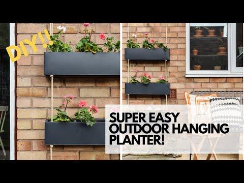 diy-outdoor-hanging-planter