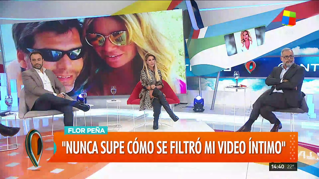 16c27299f8ce Flor Peña sospecha que servicios de inteligencia filtraron su video ...