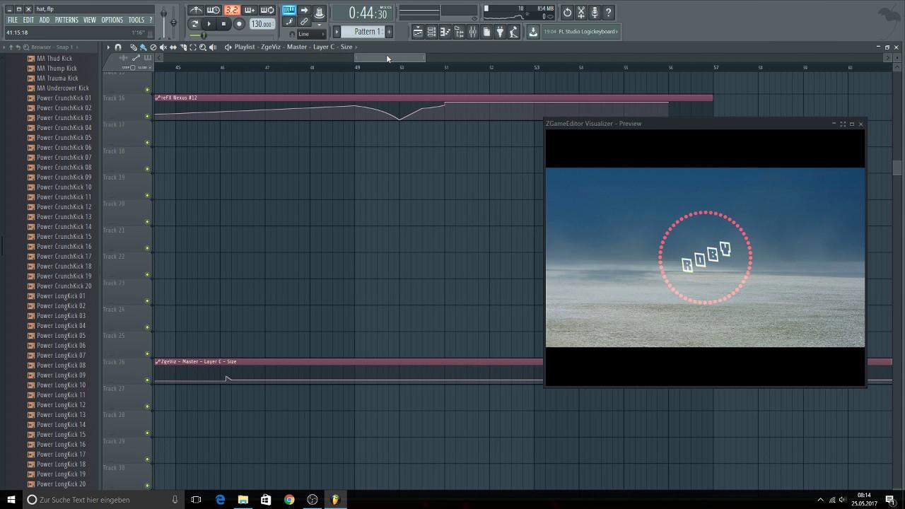 zgameeditor visualizer 2 vst free download