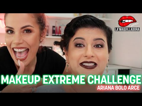 EXTREME MAKEUP CHALLENGE - Ariana Bolo Arce - Cynthia La'Maquilladora ♥