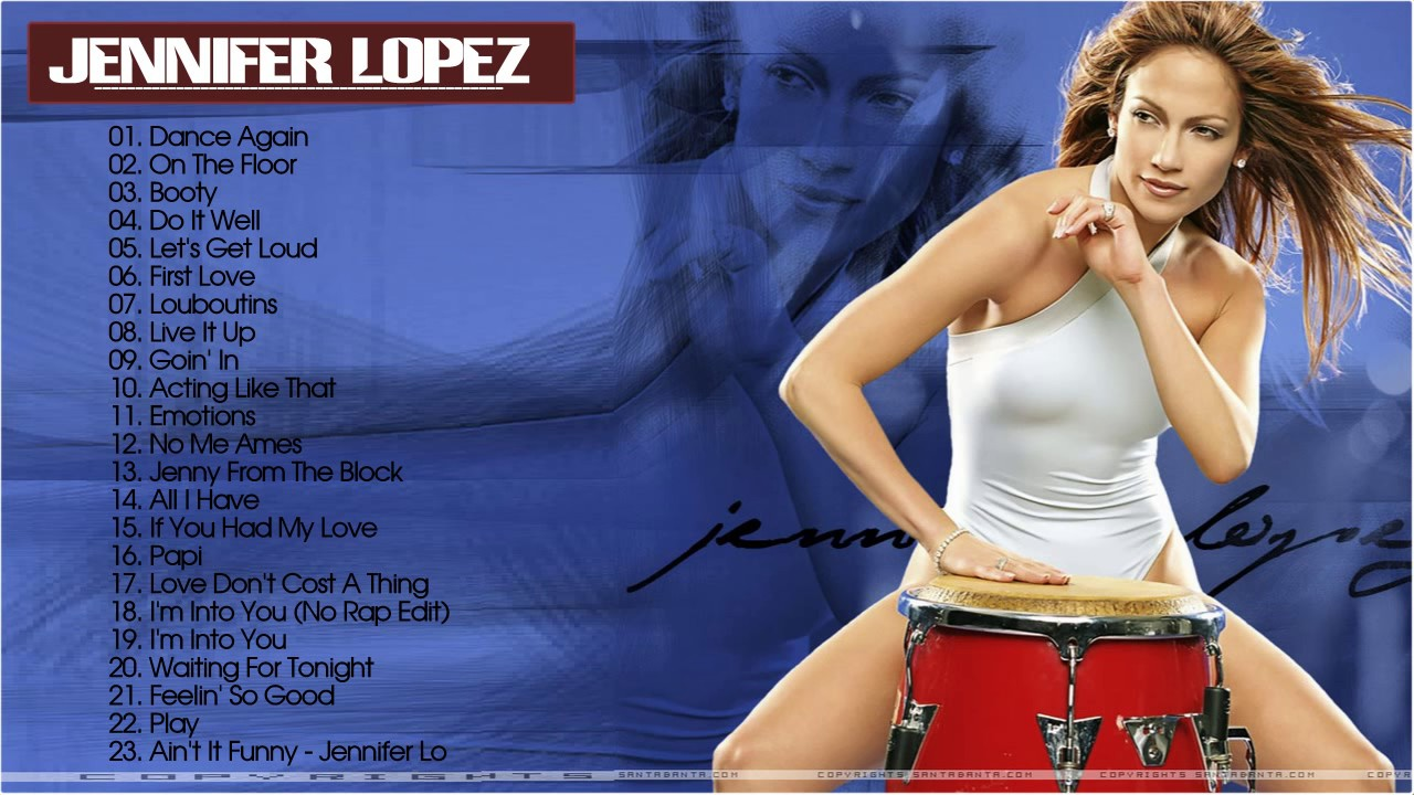Jennifer Lopez Greatest Hits Collection - Best Songs of ...
