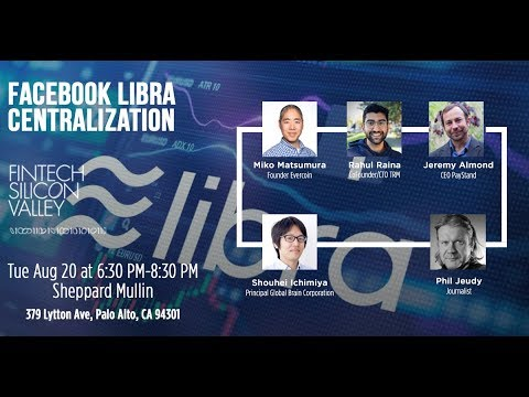 Facebook Libra Centralization? LIVESTREAM