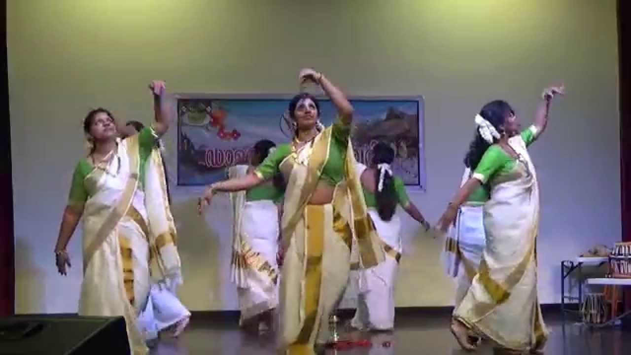 Thiruvathira - Onam 2015 - Dallas Sauhruda Vedi - Youtube On