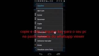Abrindo crypt7 ou crypt8 whatsapp no pc