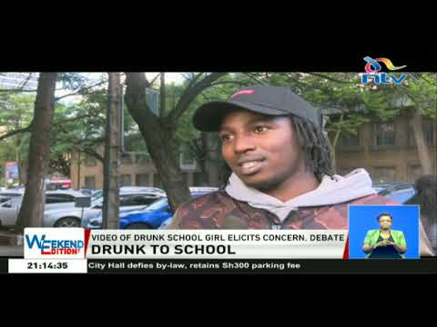 Video of drunk school girl elicits concern and debate among Kenyans thumbnail