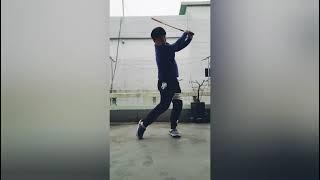 [골프연습] #스윙리듬#머리왼쪽두기#백스윙탑조정#골린이…