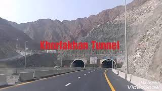 Khorfakhan Very Big long Tunnel video