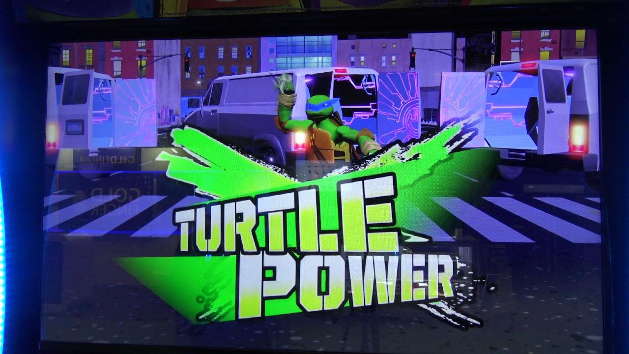 Teenage Mutant Ninja Turtles Arcade 2018 - NYC Streets (Entire Level)