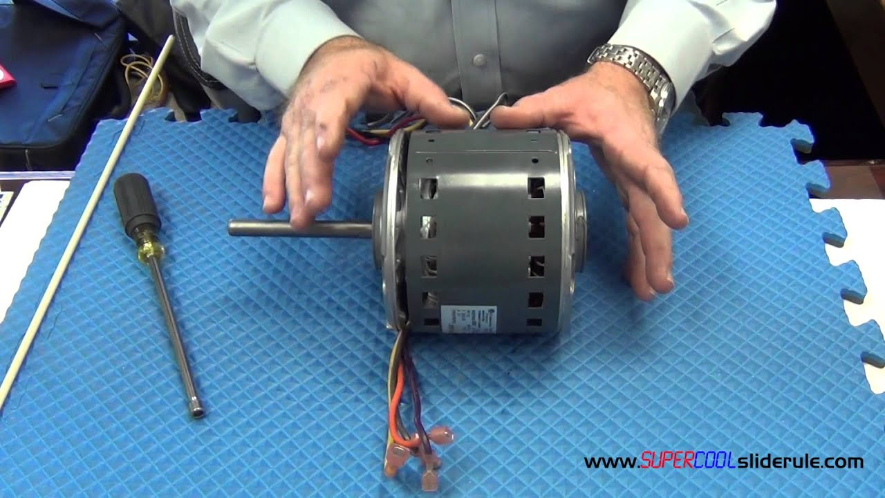 How To Change The Rotation Of A Non Reversible Motor Youtube Two Lead Condensers Wiring Diagram