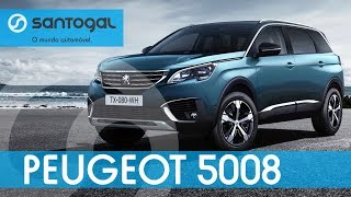 Peugeot 5008 - Apresentação (REVIEW) Santogal Peugeot