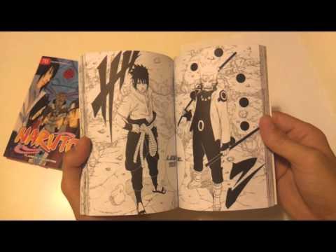 UNBOXING: Naruto Manga Tomo 70