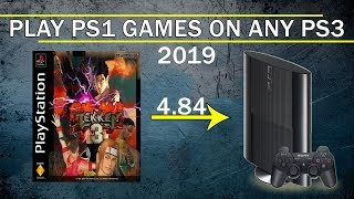 Play PS1 Games on PS3 - Install PS1 Games ISO on CFW and OFW 4.84