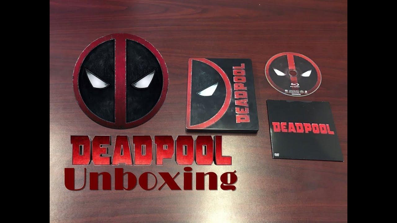 Unboxing Deadpool Steelbook (Best Buy Exclusive) - YouTube