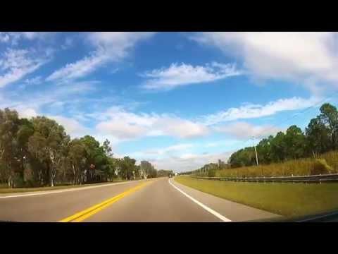 Driving to Bonita Springs, Florida