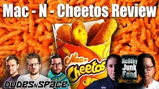 The Mac N Cheetos Experience and Review with Hellthyjunkfood - Dudes  N Space