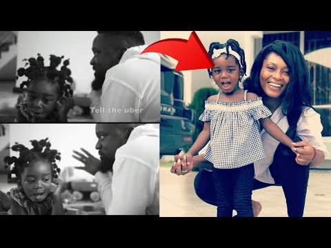 """Wow!! Sarkodie's Daughter """"Titi"""" Talks and Makes Phone Call first time and…"""