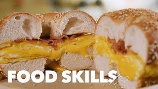 How New York Bagels Are Made | Food Skills
