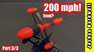 World Drone Speed Record 200 mph Interview (3 / 3)