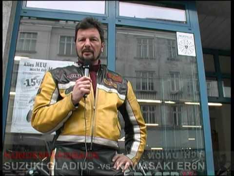 Suzuki Gladius vs. Kawasaki ER-6n / Kundentest