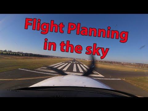 Filing Flight Plan through flight service, SR-22 flight KFRG KHEF (ATC Audio)