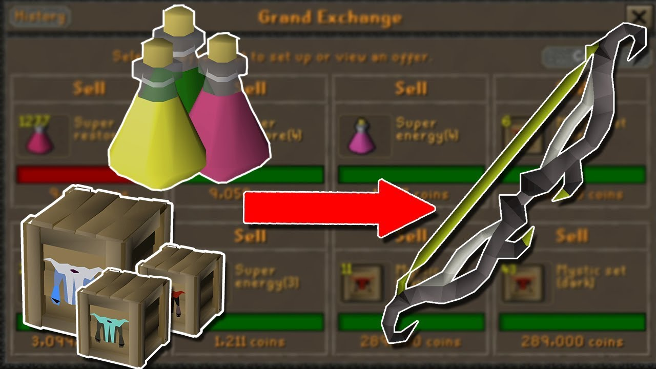 I Found an Amazing Flipping Method    Time to Abuse It! - Flipping 1gp to  Twisted Bow #3 [OSRS]
