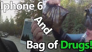 River Treasure #30: Found Bag of DRUGS AND IPHONE 6!!!