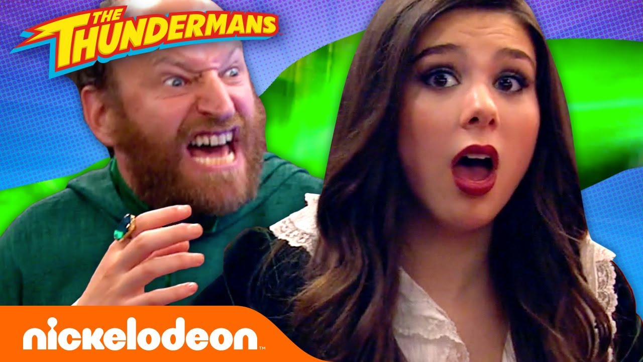 Download The Thundermans Fight the Green Ghoul! 👻 | The Haunted Thundermans