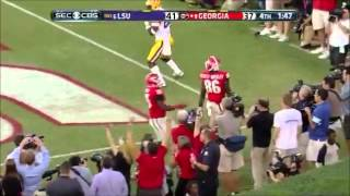Georgia vs LSU 2013 Highlights