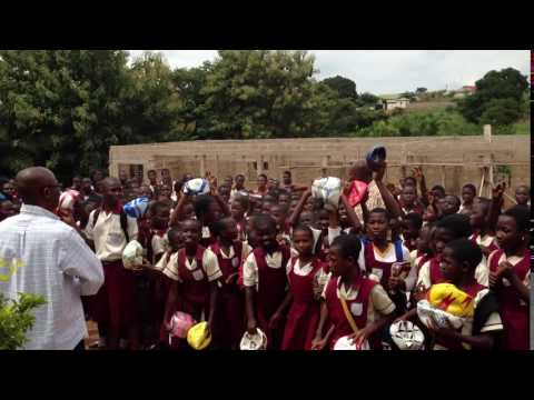 Children In Ghana Receive Soccer Balls